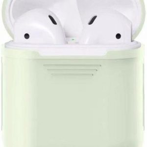 Airpods Silicone Case Cover Hoesje voor Apple Airpods - Glow in the Dark