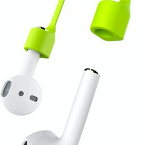Magnetic Silicone Anti-lost Strap voor Apple AirPods - Groen