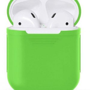 Airpods Silicone Case Cover Hoesje voor Apple Airpods - Groen
