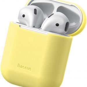 Baseus Silicone Case voor Apple AirPods - Geel