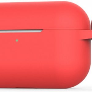 AirPods Pro Case - AirPods Pro Hoesje - Siliconen Case - Apple AirPods Pro Rood