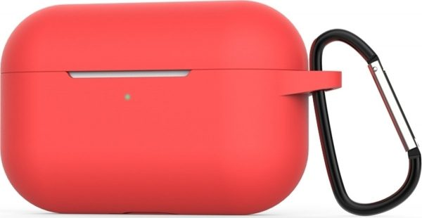 Mobigear Siliconen Cover Rood voor Apple AirPods Pro