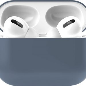 Siliconen Case Apple AirPods Pro donker blauw - AirPods hoesje donker blauw
