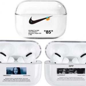 Airpods Pro - Hoesje - Off White - Combi Deal - 3 Pack