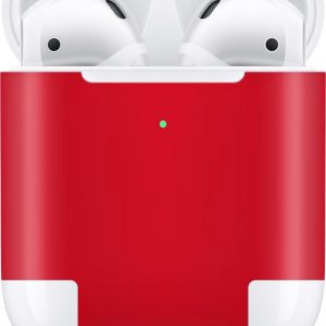 AirPods 2nd Generation skin Hot Red - 3M WRAP ROOD