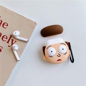 Airpods Case | Morty van Rick & Morty | Airpod case - Airpod hoesje - Airpods hoesje