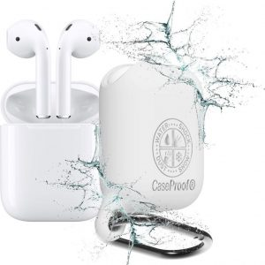 CaseProof waterproof case for AirPods White